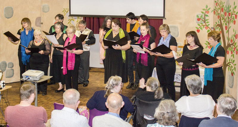 choir, community church, bury st edmunds